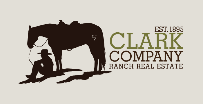 Clark Company Ranch Real Estate Logo